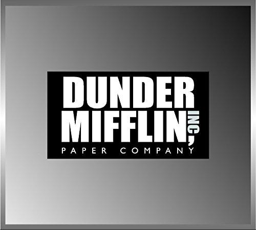 """2.5"""" Dunder Mifflin Paper High Quality Decal Bumper Sticker Car the Office Tv Show"""