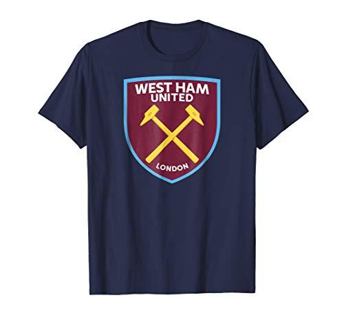 (Mens Mens West Ham United Color Crest T-shirt)