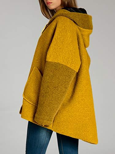 Caspar Mtl012 Pour Femme D hiver veste Laine Curry En Xxl Manteau CRCqwPdA e899c323a8