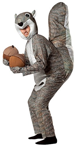 Rasta Imposta Squirrel Outfit Funny Comical Theme Party Fancy Dress Halloween Costume, OS -