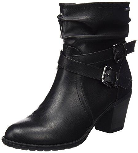 MTNG Collection 51669, Botas Cortas Para Mujer Negro (Crax Negro)