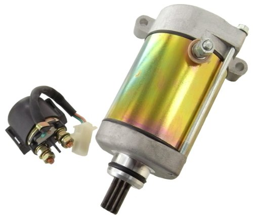 Starter & Relay Solenoid NEW 1998-2001 Yamaha YFM600 Grizzly ATV 595cc by DISCOUNT STARTER & ALTERNATOR