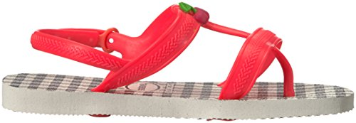 Pictures of Havaianas Kids Joy Spring Sandal White/Coral 3