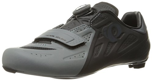 Pearl Izumi Men's Elite Road V5 Cycling-Footwear, Black/Shadow Grey, 47 EU/12.4 D US