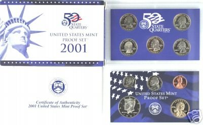 Collection Proof Coin (2001 S US Mint Proof Set)