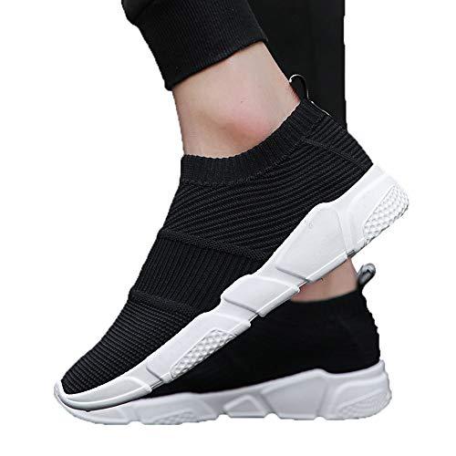 Scarpe Jiameng Traspiranti In Corsa Tessuto Allenamento Nero Traspirante Uomo Da Scarpe Sportive Casual OnOrqX5a
