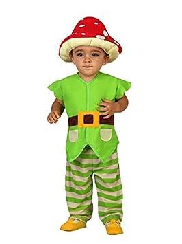 DISBACANAL Disfraz de Duende Seta para bebé - -, 6-12 Meses ...