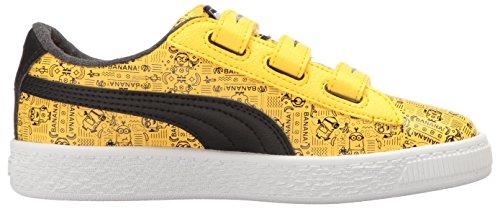 Puma Kids Minions Basket V Sneaker Minion Yellow/Puma Black