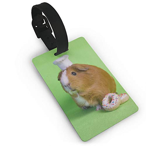 Luggage Tags & Bag Tags, Guinea Pig Pattern Name Card Holder For Luggage Baggage Travel Suitcases Backpacks, Identifier -