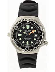 Del Mar Steel Professional Diver's 1000m Watch