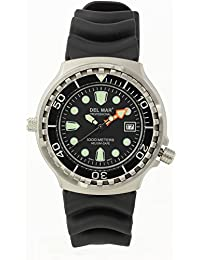 Del Mar Steel Professional Diver's 1000m Watch