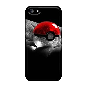 Fashionable Design Poke Ball Rugged Cases Covers For Iphone 5/5s New