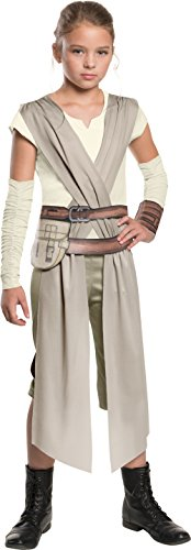 Rubie's Star Wars: The Force Awakens Child's Rey Costume, Large