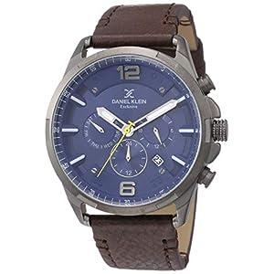 Daniel Klein Analog Blue Dial Men's Watch-DK12142-6