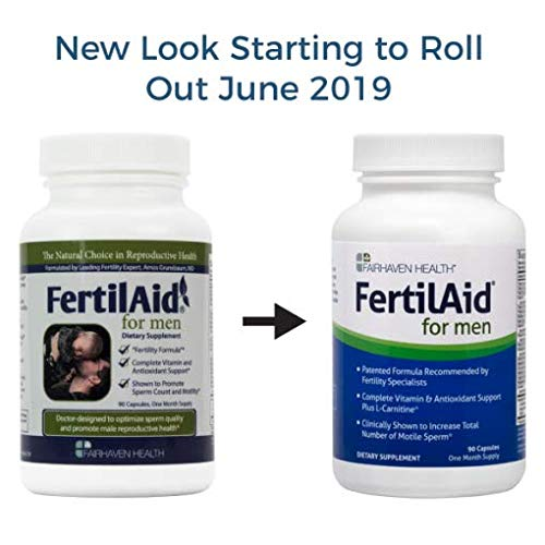 1 Month Supply Model: Newborn /& Baby Supply FertilAid for Men and MotilityBoost
