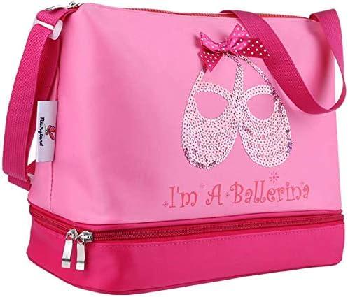 Kids Girls Dance Bag Ballet Shoulder-bags Backpack Totes Duffel Rucksack
