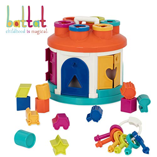 Battat - Shape Sorter House - Color