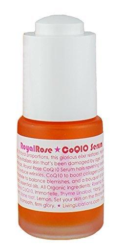 Living Libations - Organic / Wildcrafted Royal Rose CoQ10 Serum (.5 oz / 15 ml)