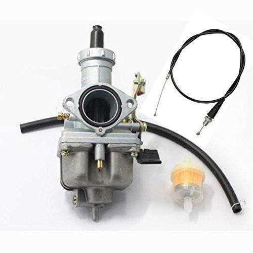 - tianfeng Carburetor W/Throttle Cable For Honda ATV FOURTRAX 200 TRX200 SX TRX200D TRX200 4 Wheeler Quad Carb