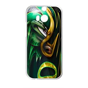 DAZHAHUI Distinctive green Christmas sweater Cell Phone Case for HTC One M8