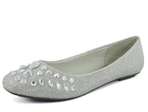 Pierre Dumas Womens Moni 42 Silver 7.5 B(M) US 8Ln7dXR93