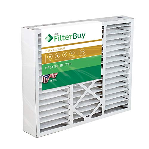 (FilterBuy 20x25x5 Honeywell FC100A1037 Compatible Pleated AC Furnace Air Filters (MERV 11, AFB Gold). Replaces Honeywell 203720, FC35A1027, FC100A1037, FC200E1037, Carrier FILXXCAR-0020. 1 Pack. )