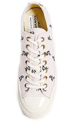 Converse Mens Chuck Taylor All Star Sneakers With Flamingo Embroidery Barely Rose wBo5XM