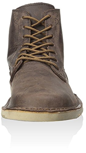 Olliberte Mens Wrango Boot Marrone / Giallo