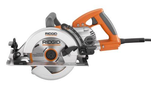 Ridgid R3210 Saw, 7 1/4-Inch Circular Worm Drive