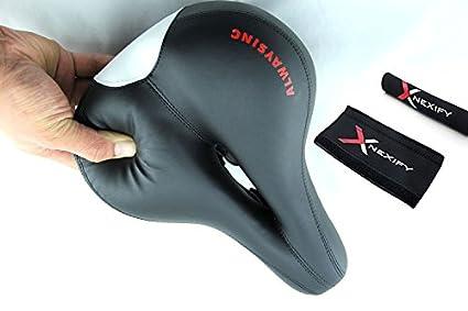 Amazon.com: Nexify Cojín Bicicleta de silicona accesorios ...