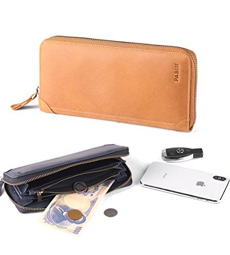 d87a7a65163c 長財布 本革 人気 ブランド 男女兼用 ラウンドファスナー 大容量 カード多収納 小銭