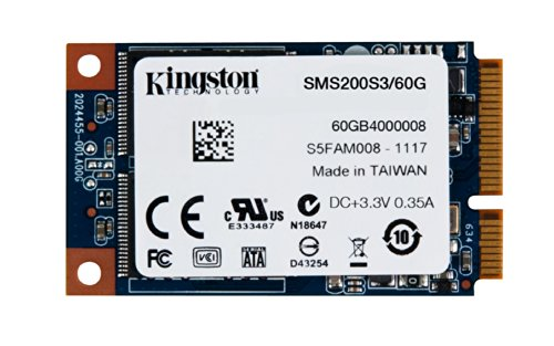 Kingston SMS200S3/60G interne-SSD 60GB (6,4 cm (2,5 Zoll), SATA III) schwarz
