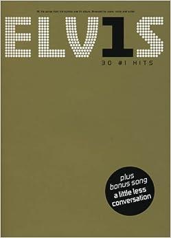 Elvis Presley: 30 #1 Hits: Piano/Vocal/Guitar