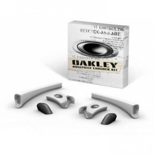 Oakley Flak Jacket Earsock/Nosepiece Kit (White)