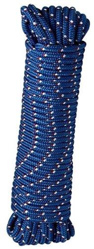 Crawford-Lehigh MFP8100 Lehigh Diamond Braided Rope, 3/8 In Dia X 100 Ft L, 244 Lb, 100', Colors may vary by Crawford-Lehigh