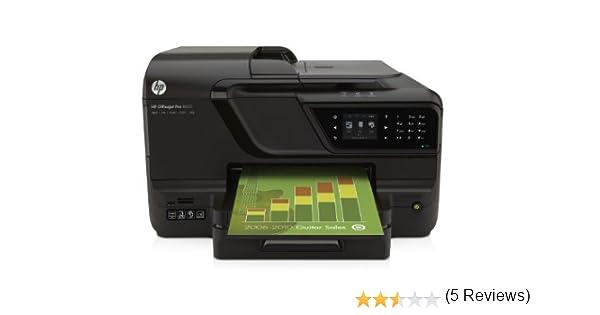 HP Officejet Impresora multifuncional HP Officejet Pro 8600 con conexión web - Impresora multifunción (De inyección de tinta, Copiar, fax, Imprimir, ...