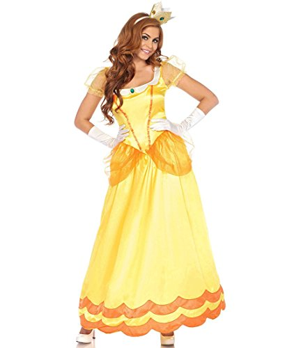 Princess Daisy Costumes (Sunflower Princess Adult Costume - Large)