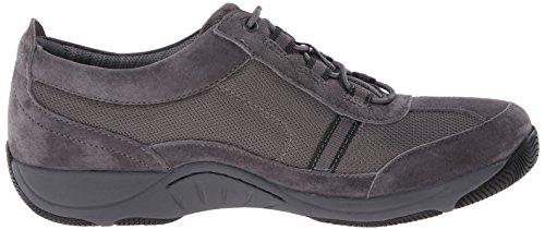 Dansko Womens Helen Fashion Sneaker In Pelle Scamosciata Color Carbone