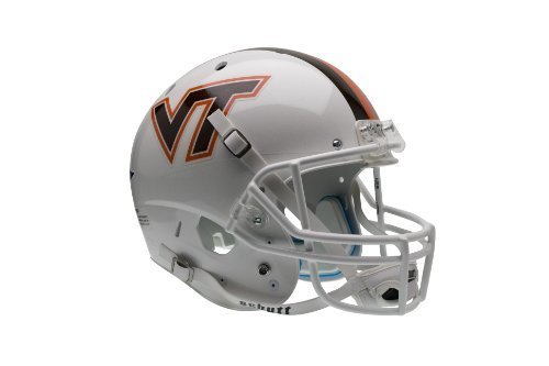 NCAA Virginia Tech HokiesレプリカXPヘルメット – 代替3 (ホワイト) by Schutt   B01AKFBEEK