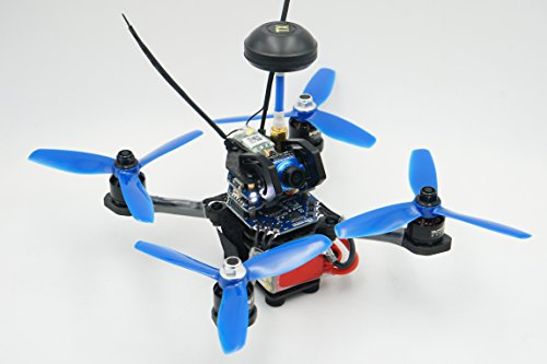 150mm VIFLY X150 BNF Racing Drone for 4'' Props. Fast Sub 250g Racing Quadcopter. Long Flight Time.(DSMX Receiver) ()