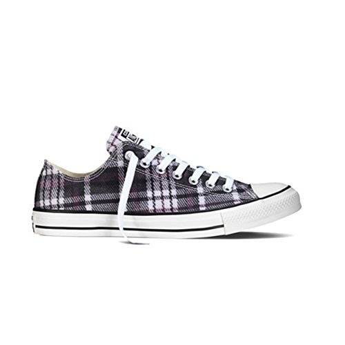 (Converse Unisex Chuck Taylor All Star Lo Plaid White/Red/Black)