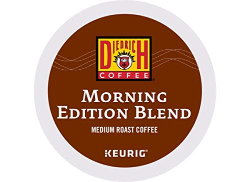 Diedrich, Morning Edition Blend, Single-Serve Keurig K-Cup Pods, Medium Roast Coffee, 48 Count (2 Boxes of 24 Pods)