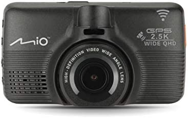 Mio MiVue 798 Mounted Car Security Dash Camera with Sony's Premium STARVIS Sensor 2.5K QHD 1600p, 150° Wide-Angle Lens - Built-in GPS, G-Sensor for Emergency Backup, WiFi Connectivity & Safety Alerts