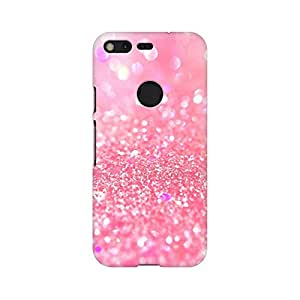 Mobicture Abstract Printed Glitter Premium Printed High Quality Polycarbonate Hard Back Case Cover for Google Pixel With Edge to Edge Printing