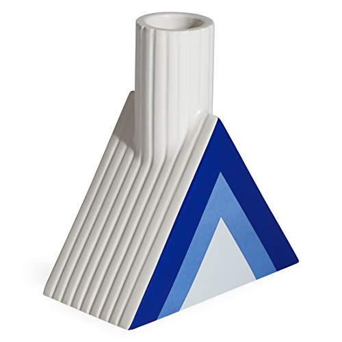 (Now House by Jonathan Adler Chroma Triangle Vase, Blue)