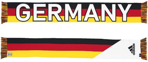 Germany Deutschland Adidas 2014 FIFA World Cup Authentic Jacquard Team Scarf