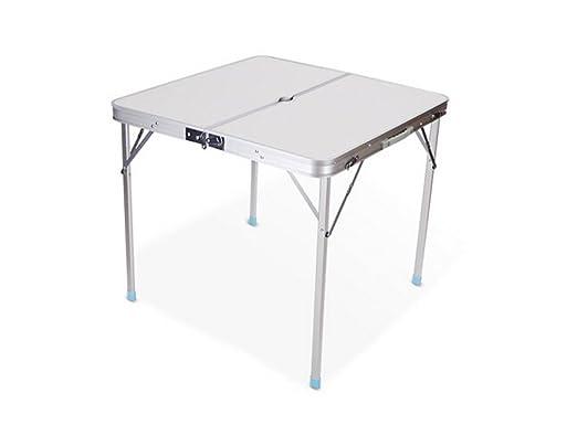 HNHX Mesa Plegable Mesa y sillas Plegables al Aire Libre Mesa ...