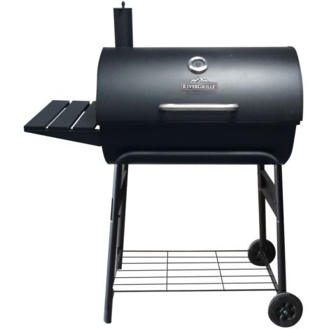 RIVERGRILLE 30 IN BARREL CHARCOAL GRILL by RIVERGRILLE