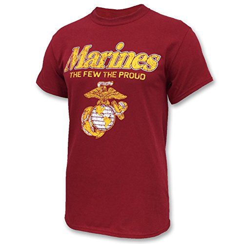 MARINES THE FEW THE PROUD FADED T - 2XL