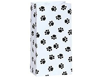 Favorite Amazon.com: 25/set Paw Print Black and White All-occasion Paper  AA49